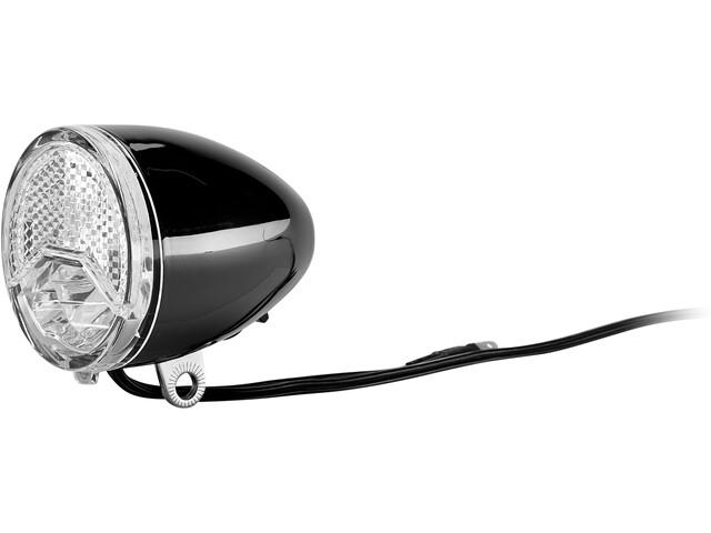 Axa 606 Steady Auto Dynamo forlygte LED, sort